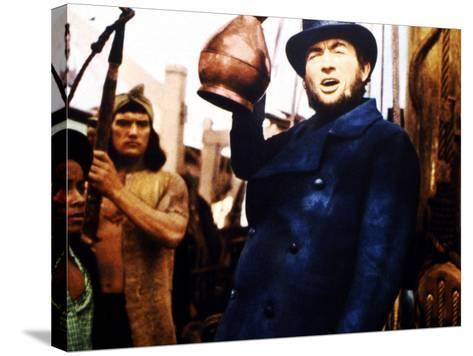 Moby Dick, Gregory Peck, 1956--Stretched Canvas Print