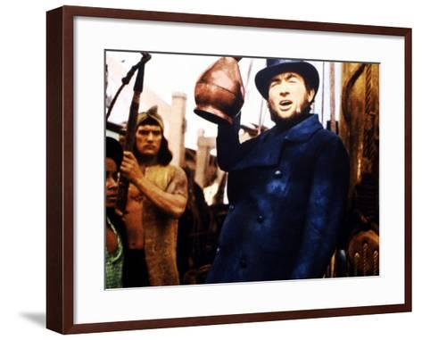 Moby Dick, Gregory Peck, 1956--Framed Art Print