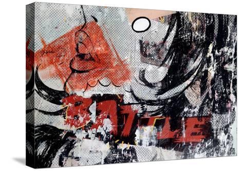 Battle-Dan Monteavaro-Stretched Canvas Print
