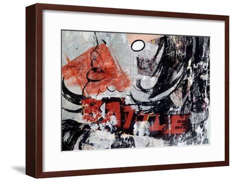 Battle-Dan Monteavaro-Framed Art Print