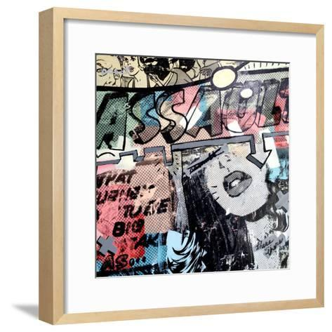 Assault-Dan Monteavaro-Framed Art Print