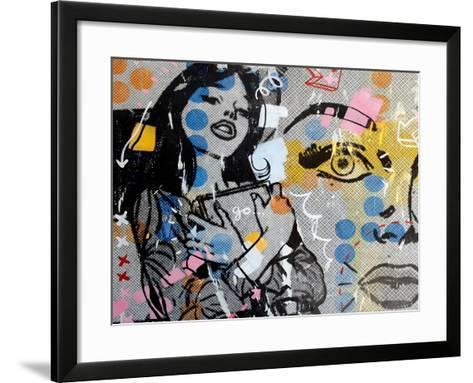 Go!-Dan Monteavaro-Framed Art Print