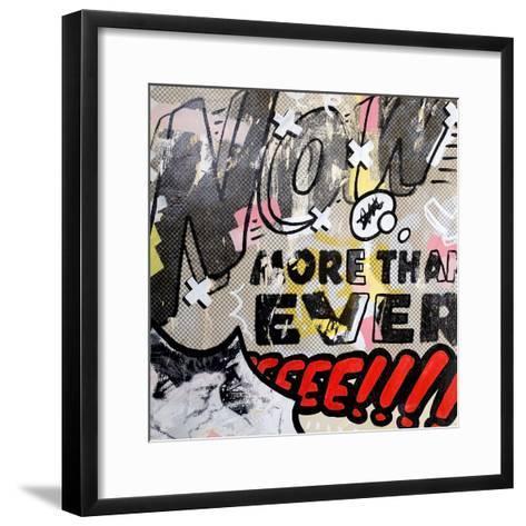 More than ever-Dan Monteavaro-Framed Art Print