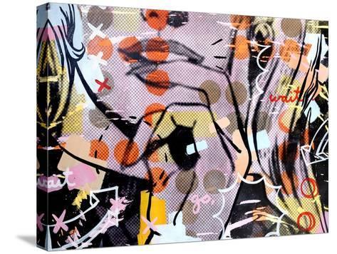 Wait wait…go!-Dan Monteavaro-Stretched Canvas Print