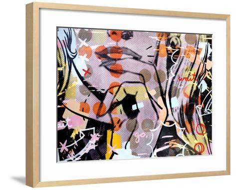 Wait wait…go!-Dan Monteavaro-Framed Art Print