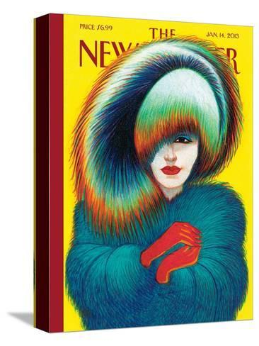 The New Yorker Cover - January 14, 2013-Lorenzo Mattotti-Stretched Canvas Print
