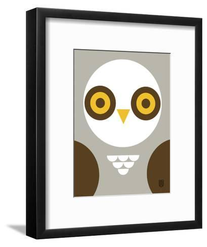 Wee Alphas Faces, Ollie-Wee Society-Framed Art Print