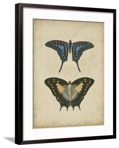 Antique Butterfly Pair III-Vision Studio-Framed Art Print