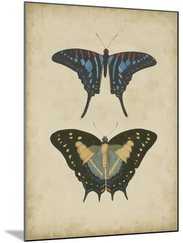 Antique Butterfly Pair III-Vision Studio-Mounted Art Print