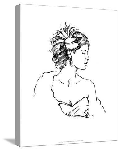 Elegant Fashion Study III-Ethan Harper-Stretched Canvas Print