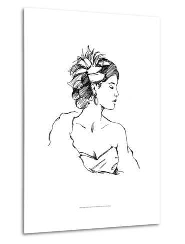 Elegant Fashion Study III-Ethan Harper-Metal Print
