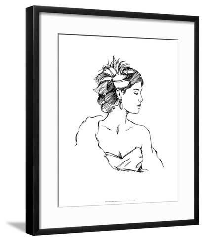 Elegant Fashion Study III-Ethan Harper-Framed Art Print