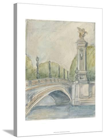 View of Paris V-Ethan Harper-Stretched Canvas Print