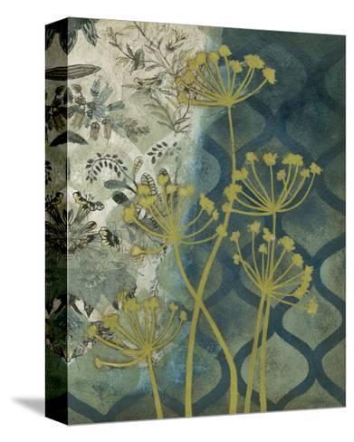 Peridot Botanical I-Megan Meagher-Stretched Canvas Print