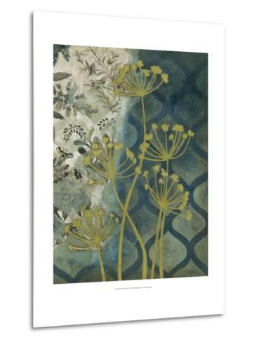 Peridot Botanical I-Megan Meagher-Metal Print
