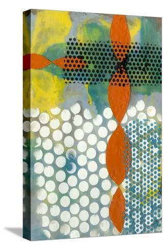 Translucent Abstraction II-Jennifer Goldberger-Stretched Canvas Print