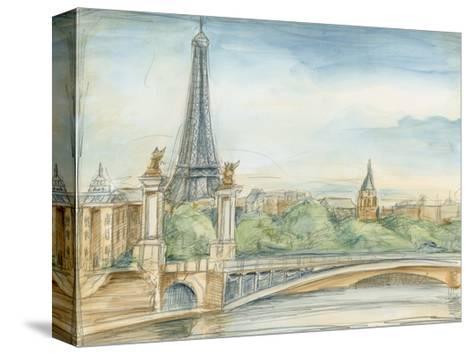 Parisian View-Ethan Harper-Stretched Canvas Print