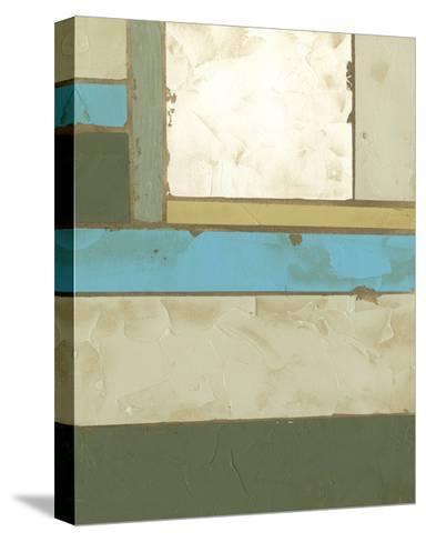 Weathered Paneling II-Jennifer Goldberger-Stretched Canvas Print