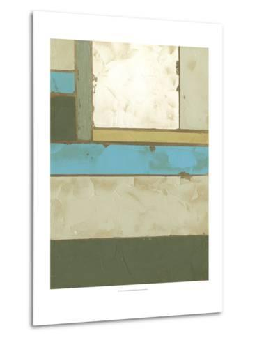 Weathered Paneling II-Jennifer Goldberger-Metal Print