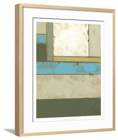Weathered Paneling II-Jennifer Goldberger-Framed Art Print