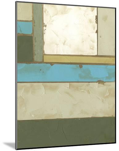 Weathered Paneling II-Jennifer Goldberger-Mounted Art Print