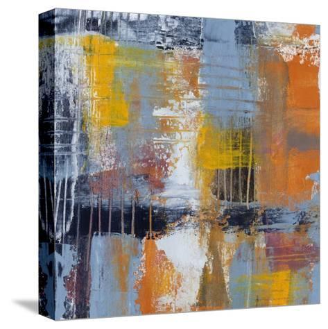 Urban Plan I-Jennifer Goldberger-Stretched Canvas Print
