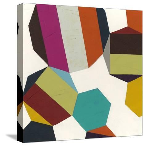 Poly-Rhythmic I-Erica J^ Vess-Stretched Canvas Print