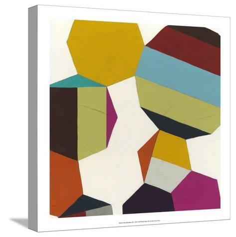Poly-Rhythmic III-Erica J^ Vess-Stretched Canvas Print