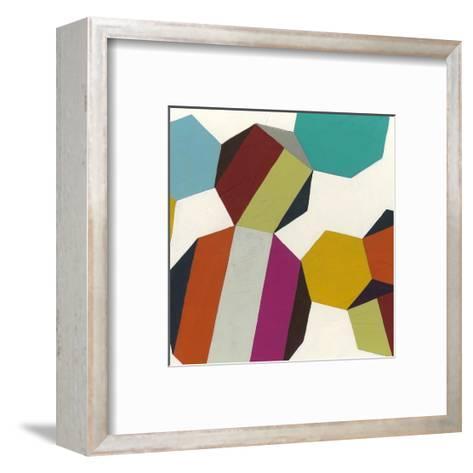 Poly-Rhythmic IV-Erica J^ Vess-Framed Art Print