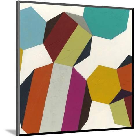 Poly-Rhythmic IV-Erica J^ Vess-Mounted Art Print