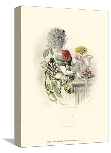 Le Fleur Anim? VII--Stretched Canvas Print