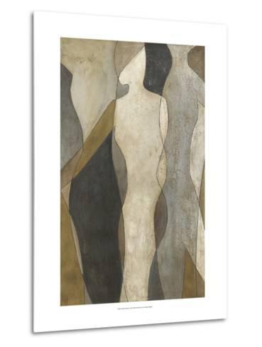 Figure Overlay I-Megan Meagher-Metal Print