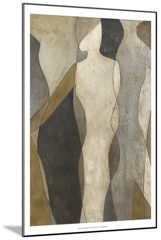 Figure Overlay I-Megan Meagher-Mounted Art Print