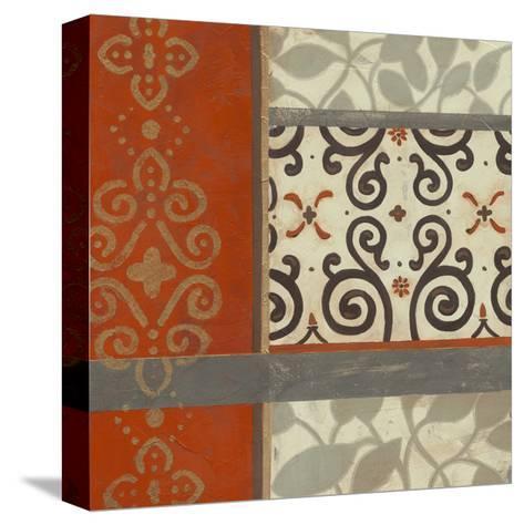 Mandarin Scroll I-June Erica Vess-Stretched Canvas Print