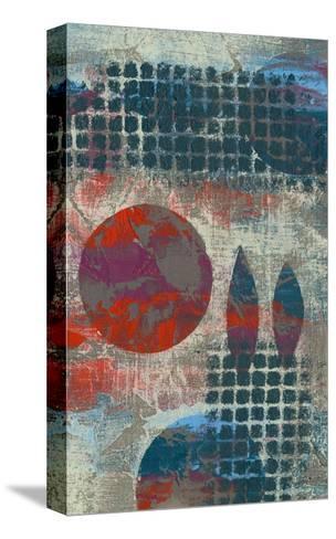 Stellar Orbit II-Jennifer Goldberger-Stretched Canvas Print