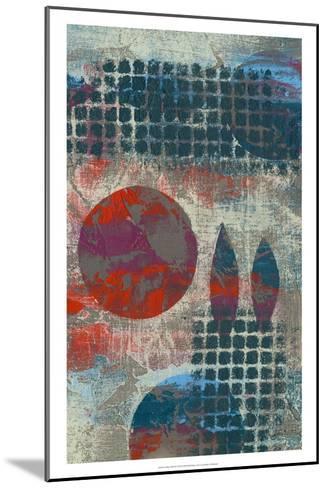 Stellar Orbit II-Jennifer Goldberger-Mounted Art Print