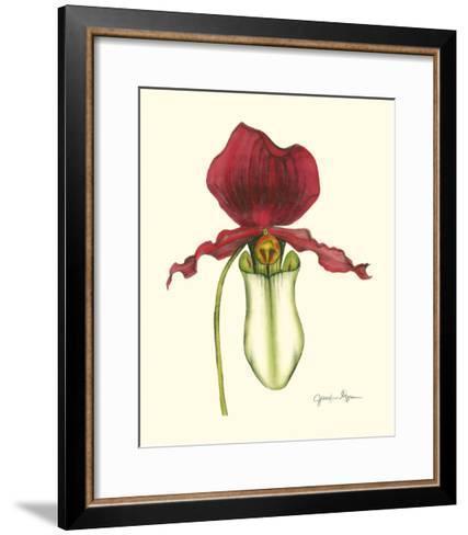 Majestic Orchid I-Jennifer Goldberger-Framed Art Print
