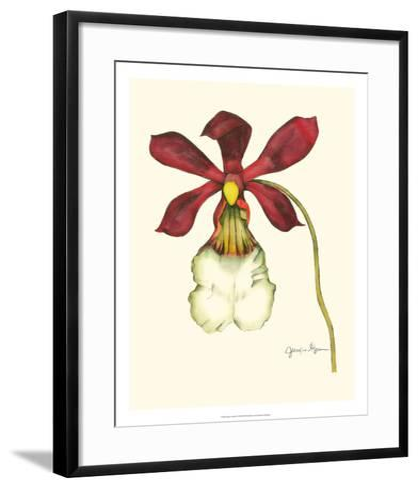 Majestic Orchid II-Jennifer Goldberger-Framed Art Print