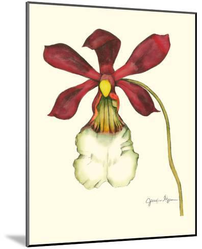 Majestic Orchid II-Jennifer Goldberger-Mounted Art Print
