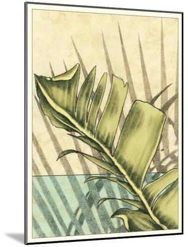 Tropical Shade I-Ethan Harper-Mounted Art Print
