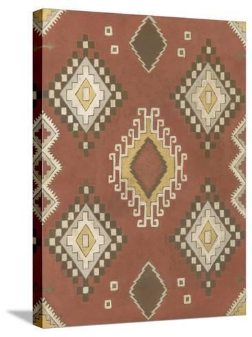 Non-Embellished Native Design II-Megan Meagher-Stretched Canvas Print