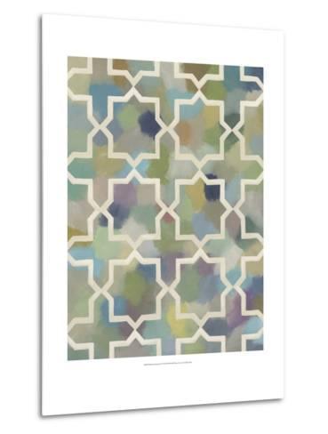 Random Symmetry II-Chariklia Zarris-Metal Print