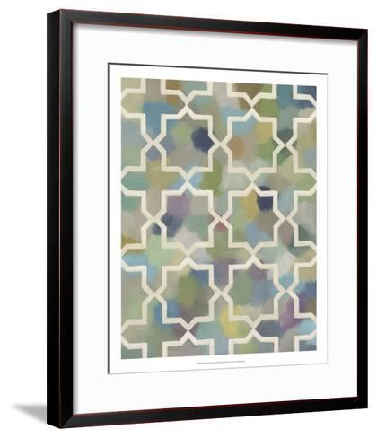 Random Symmetry II-Chariklia Zarris-Framed Art Print