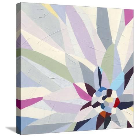 Geometric Dahlia II-June Vess-Stretched Canvas Print