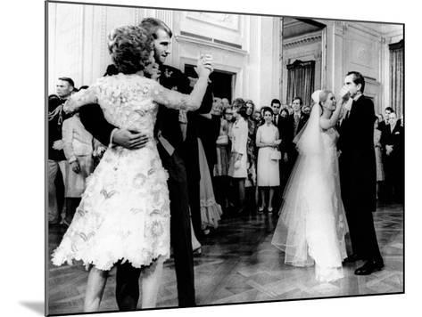 Nixon-Cox White House Wedding Reception--Mounted Photo