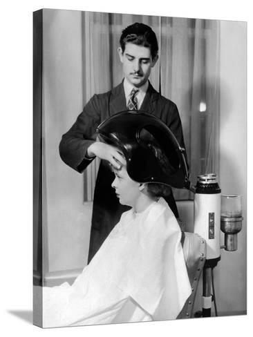 Helena Rubenstein Fifth Avenue Salon--Stretched Canvas Print