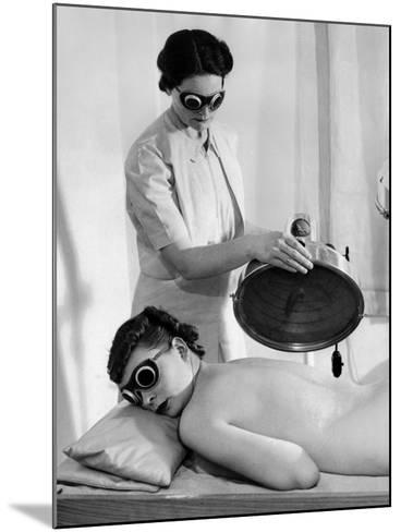 Helena Rubenstein Fifth Avenue Salon--Mounted Photo
