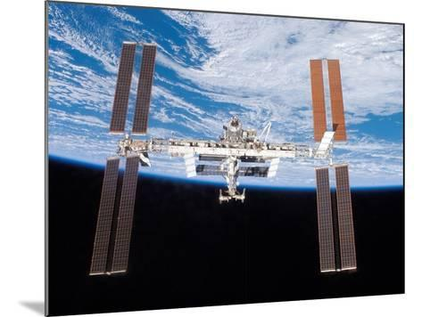 International Space Station in 2007--Mounted Photo
