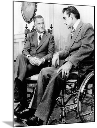 Vice President Spiro Agnew Visits with Right Wing Segregationist Democratic Governor George Wallace--Mounted Photo