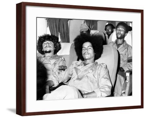 Cuban Rebel Soldiers, Leaving Santiago De Cuba for Matanzas--Framed Art Print